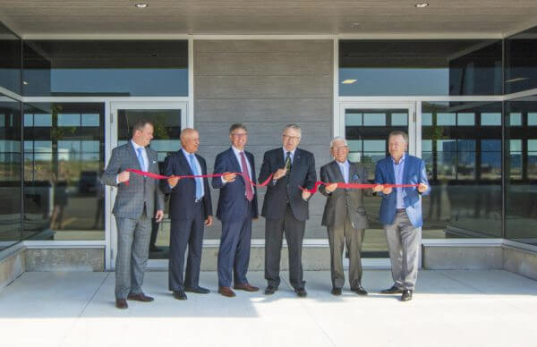 Oak West Ribbon cutting ceremony