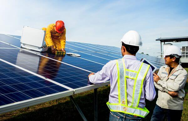 Solar Power Workers