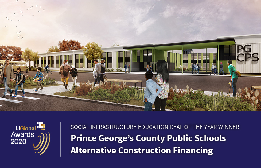 Prince George's Country Public Schools rendering